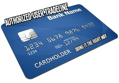TRADELINES AU AKA Piggybacking Boost Your Credit Score RIGHT NOW Authorized user