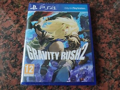 Gravity Rush 2 PS4 BRAND NEW AND SEALED