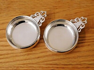"""LUNT ~ Pair of Small Antique Sterling Silver Porringer Bowls ~  2"""" Bowl ~ 581"""