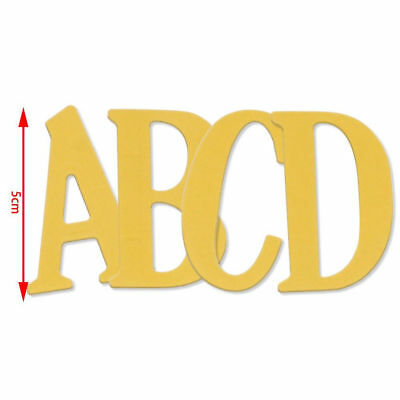 5CM Large Big Alphabet Letters Metal Cutting Dies Stencils for DIY Scrapbooking