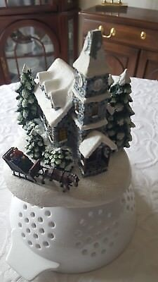 Thomas Kinkade Teleflora Sunday Evening Sleigh Ride Reduced!!