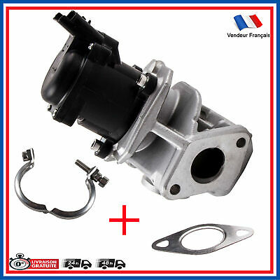 Vanne EGR 1.6 HDI PEUGEOT 206 207 307 PARTNER EXPERT + joints + colliers 1618NR