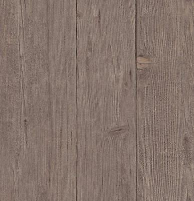 Natural Brown Wood Effect Wallpaper Paste The Wall Textured Wooden