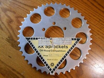 NOS OEM Yamaha XX Competition Rear Sprocket 1G8-25446-01-XX YZ 100 125X 175 1976