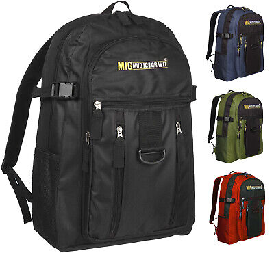 Mens Large Backpack & Rucksack Bag By MIG for WORK TRAVEL CAMPING etc MG-105R-2