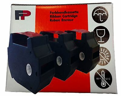 FP Francotyp Postalia Original Optimail T1000 Franking Machine Ink Ribbons - RED