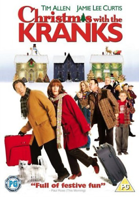 Tim Allen, Jamie Lee Curtis-Christmas With the Kranks (UK IMPORT) DVD NEW