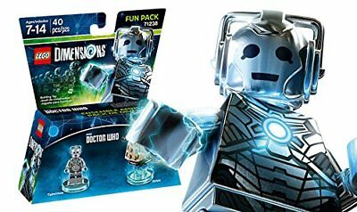 LEGO Dimensions, Doctor Who, Cyberman and Dalek Fun Pack 71238 SEE PHOTOS