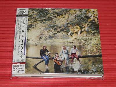 2018 PAUL McCARTNEY & WINGS WINGS WILD LIFE JAPAN ONLY 2 SHM CD SPECIAL EDITION