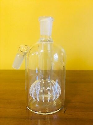 14mm Ash catcher Barrel ASH CATCHER GLASS SHISA ~Clear ASHCATCHER~FREE USA SHIP