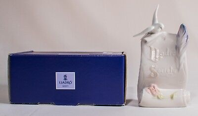 """7"""" Lladro Art Brings Us Together # 7677 With Box Excellent Condition"""