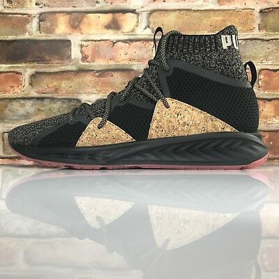 PUMA Limited Edition Ignite Evoknit Black Cork Mens 10.5 Training Running  Shoes 4831d1b0b