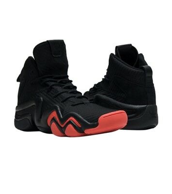size 40 6829d 5f4a4 New Adidas Originals Crazy 8 ADV Basketball Sneaker Size 13 Black Red CQ0986