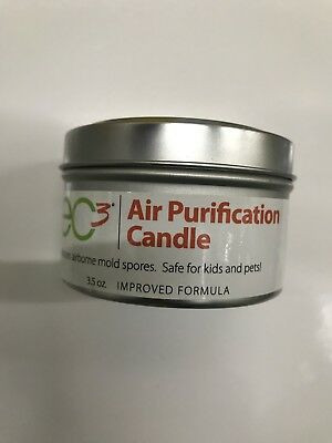 ec3 air purification candle 3.5oZ Reduces Airborne Mould Spores