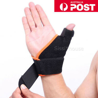 Medical Thumb Spica Splint Support Brace stabiliser for Sprain Arthritis Use A