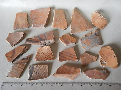 Neolithic Pottery Shards #9. Trypillian culture.