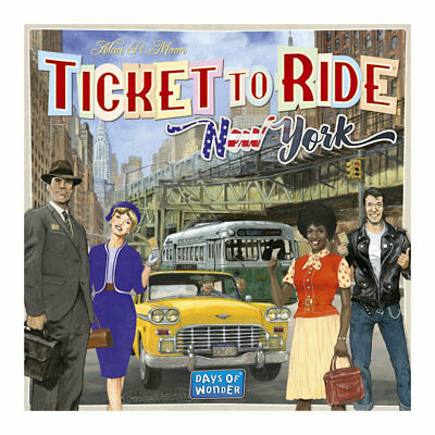 Ticket To Ride New York Board Game - Brand New & Factory Sealed