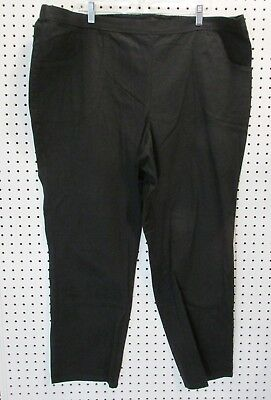 02350d4430c JUST MY SIZE Jean Capris Plus Size 2X 18 20 Womens Pull On Stretch ...
