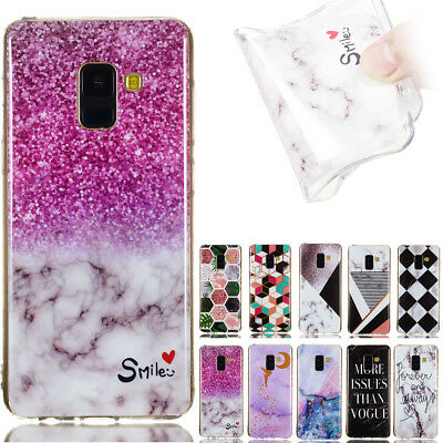 Marble Pattern Soft TPU Back Case Cover For Samsung S3 S4 S5 S6 S7Edge S8 S9Plus
