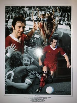 Signed Jimmy Case Liverpool Autograph Photo Montage