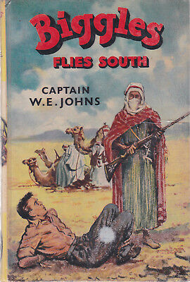 Biggles Flies South by Captain W.E. Johns (Hardback 1963)