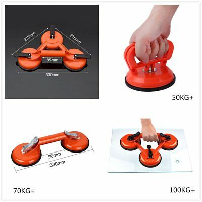 Plastic Glass Suction Cup Floor Tile Sucker Handle Puller Lifter Dent Remover GI