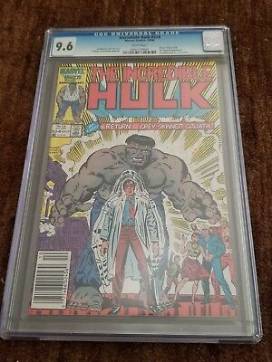 Incredible Hulk #324 CGC 9.6 Newsstand Variant Return of Grey Hulk (Swipe of #1)