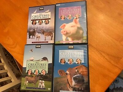 All Creatures Great & Small Series 3, 4, 7 & The Specials DVD (12 Discs)