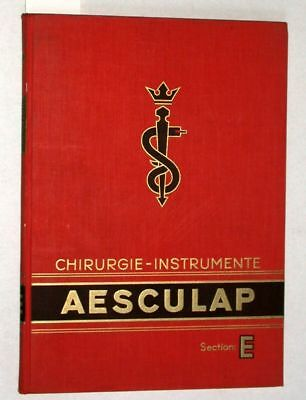 Chirurgie - Instrumente Aesculap Section: E. - ohne -