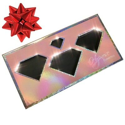 Pink Holographic Empty Magnetic Eyeshadow Makeup Palette