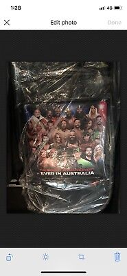 WWE Super Showdown Melbourne Australia Folding Chair. Brand New Still In Plastic