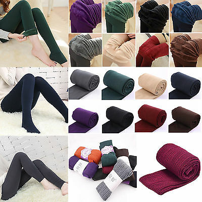Womens Thick Warm Winter Stockings Socks Ladies Stretch Tights Opaque Pantyhose