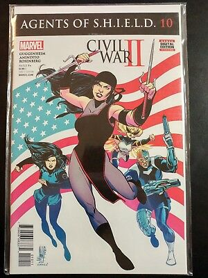 AGENTS of SHIELD #10 Civil WAR II (MARVEL 2016 Comics) - VF/NM