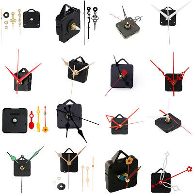 Replacement Wall Quartz Clock Movement Mechanism Hands DIY Repair Clock Kit Tool