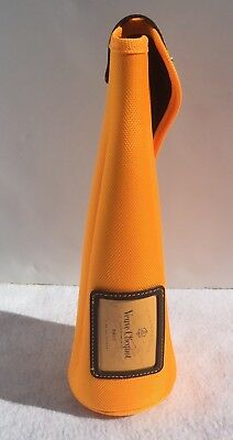 Champagne Veuve Clicquot  Orange Bottle Bag HOLDER Case ONLY Zippered