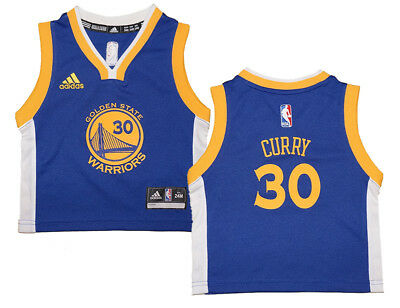 hot sale online add2b 46494 INFANT STEPHEN CURRY #30 Golden State Warriors NBA Adidas Royal Replica  Jersey