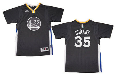 92a4e60c0 Youth Kevin Durant Golden State Warriors NBA Adidas Short Sleeve Swingman  Jersey