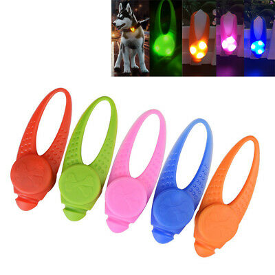 1PC Safety LED Collar Light Dog Cat Pet Flashing Glow Light Waterproof Silicon