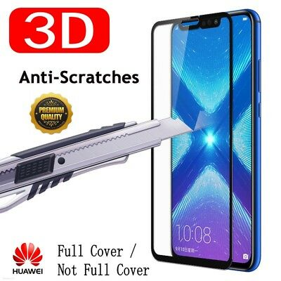 Full Tempered Glass Screen Protector For Huawei Mate 20/10 P20 Lite/Pro Honor 8X