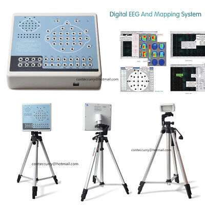 CE Digital 32 Channel EEG machine AND Mapping System,KT88-3200,2 Tripods CONTEC