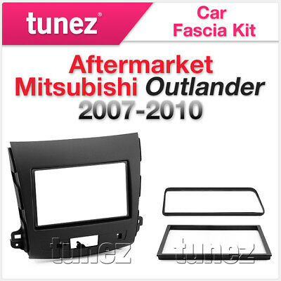 Fascia Facia Kit Double-DIN Mitsubishi Outlander ZG ZH 2007-2010 Dash Panel Trim