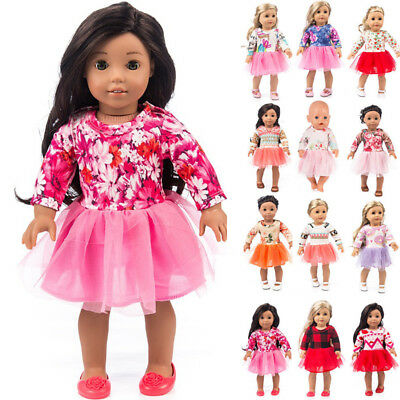 Clothes for 18 Inch Beautiful Girl Generation Dolls Dress Outfits Accs