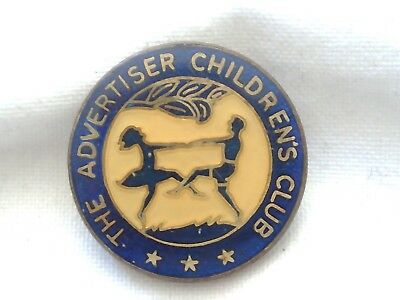 Collectable - The Advertiser Children's Club - Members Badge - Pin