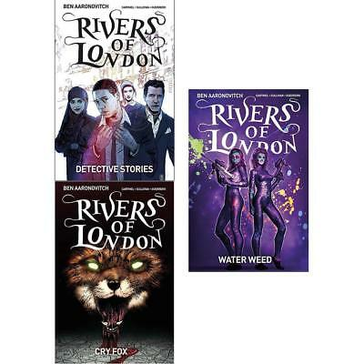 Rivers of London Volume 4-6 Water Weed Cry Fox 3 Books Collection Set BRAND NEW