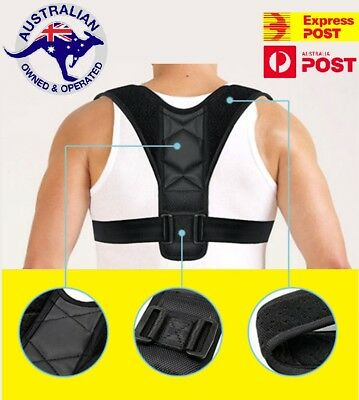 Posture Clavicle Corrector Support Back Straight Strap Correct Shoulders Brace