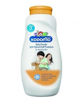 Kodomo Baby Powder Natural Soft Protection 3+ With Orange And Citronella Oil 50G