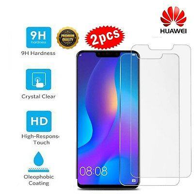 2x Huawei MATE 20 Pro Lite Tempered Glass Screen Protector Premium Protection