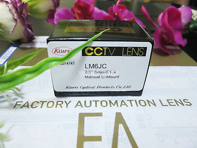1PC Kowa LM6JC 6mm Megapixel Hd industrial camera lens#SS