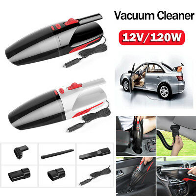 Portable Handheld Mini Wet&Dry Dual Use Vacuum Cleaner 120W Car Vacuum Cleaners