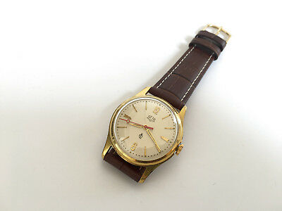 Vintage Rare GLASHUTTE GUB Q1 Chronometre cal. 60.3 Mechanical Germany Watch
